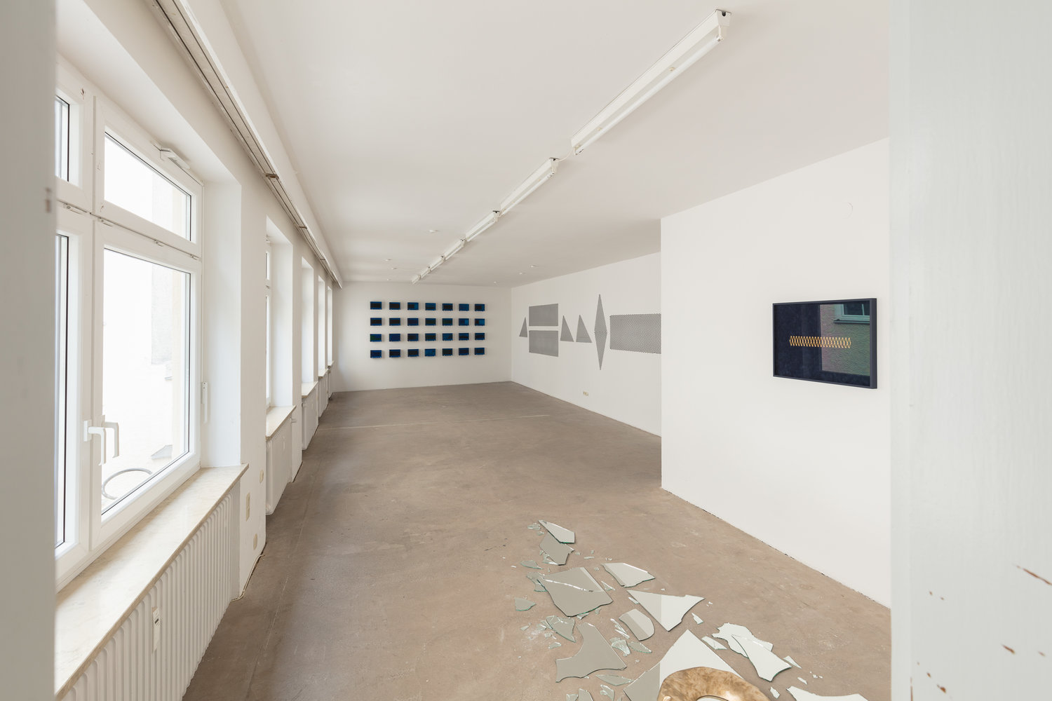 Solo Exhibition View at Kunstraum München in 2018