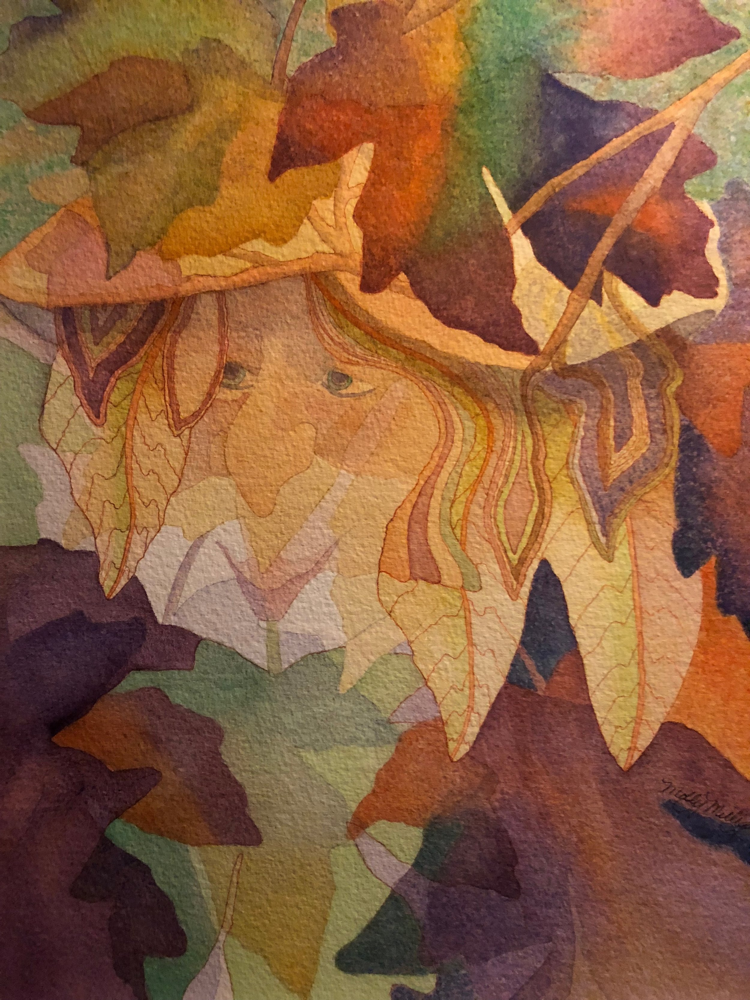 """""""Woodland Spirit""""    Water Color Giclee......8""""X10"""" ........$60.00    By Molly Milligan"""