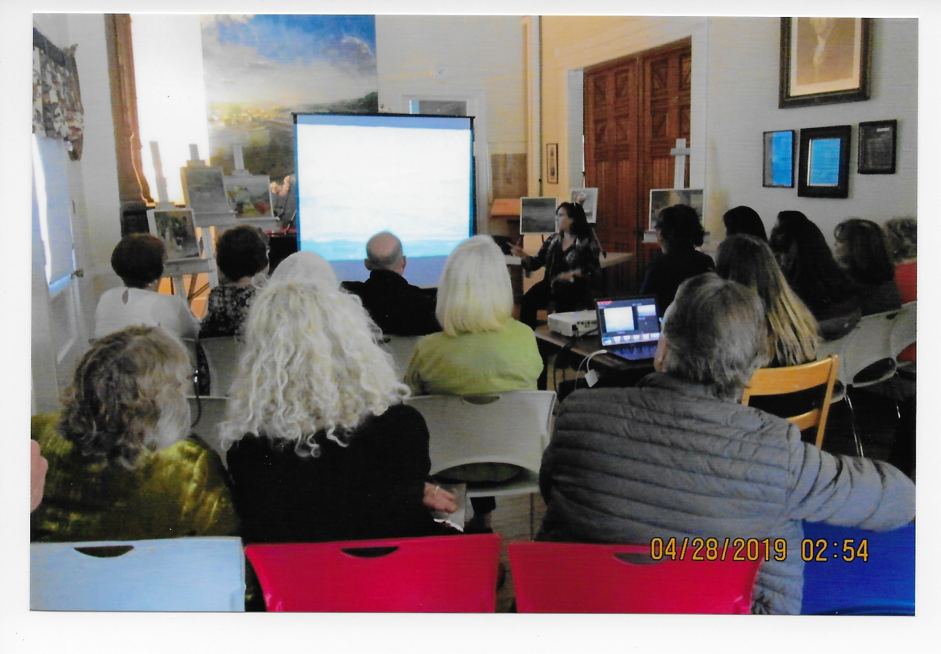 Christine Lafuente's visit to CAL, II 001.jpg