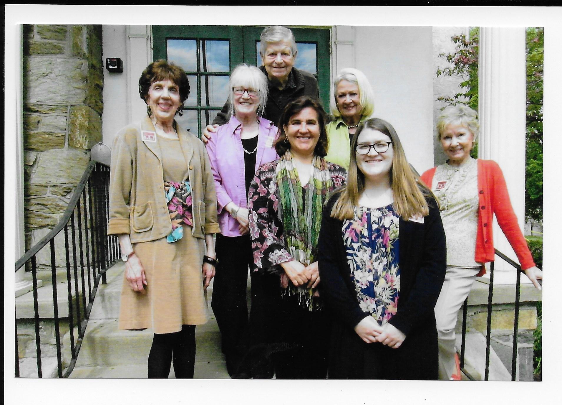 Christine Lafuente's visit to CAL.jpg