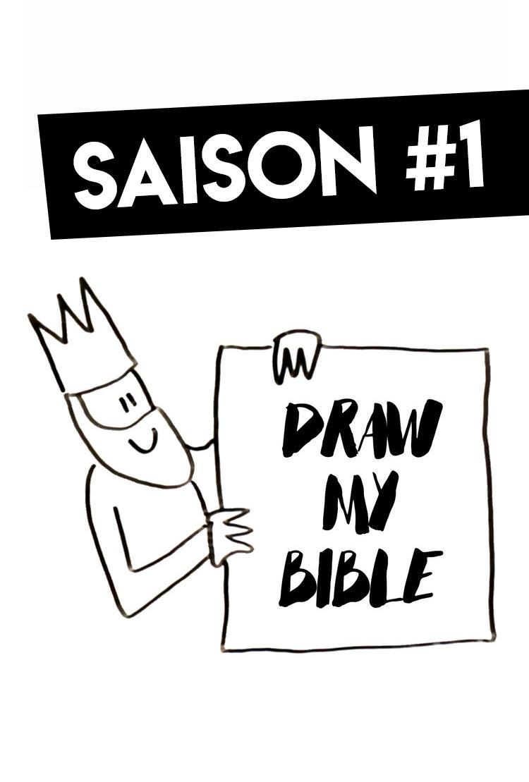 draw my bible - La vie d'un personnage de la Bible en dessin