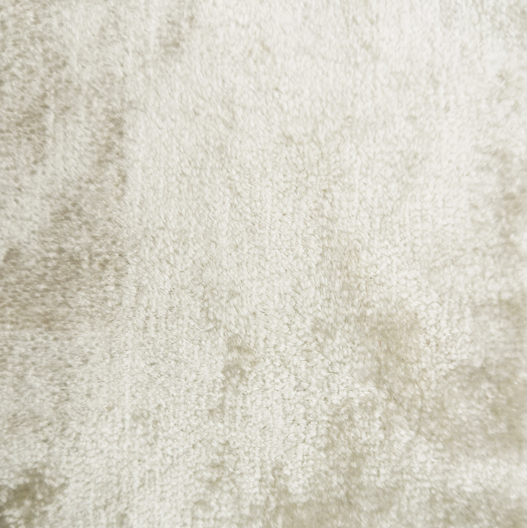 ivory crushed velvet - £34 per meter inc VATContact us to request a swatch. Stock cuttings and shipping costs can be supplied upon request.Due to monitor variations colour may vary.Colour: IvoryFabric type: Crushed VelvetComposition: 55% Cotton 45% ViscoseWidth: 140cmSpecialist dry clean only.