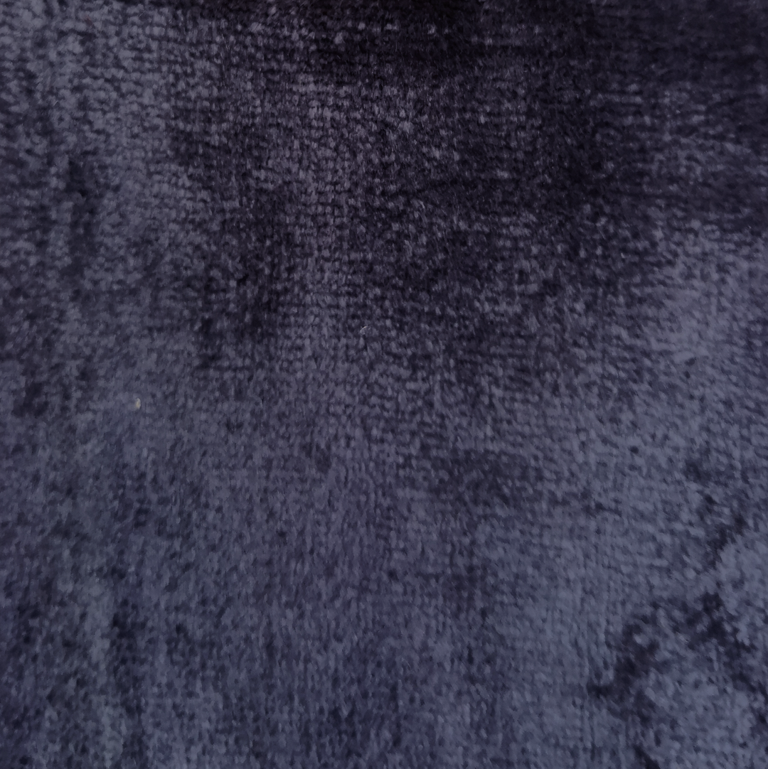 flax blue crushed velvet - £34 per meter inc VATContact us to request a swatch. Stock cuttings and shipping costs can be supplied upon request.Due to monitor variations colour may vary.Colour: Flax BlueFabric type: Crushed VelvetComposition: 55% Cotton 45% ViscoseWidth: 140cmSpecialist dry clean only.
