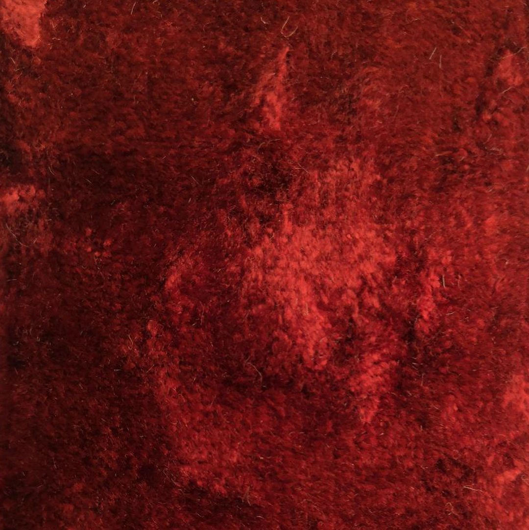 terracotta crushed velvet - £34 per meter inc VATContact us to request a swatch. Stock cuttings and shipping costs can be supplied upon request.Due to monitor variations colour may vary.Colour: TerracottaFabric type: Crushed VelvetComposition: 55% Cotton 45% ViscoseWidth: 140cmSpecialist dry clean only.