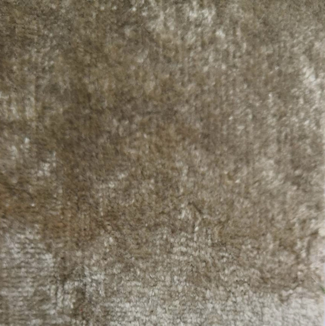taupe crushed velvet - £34 per meter inc VATContact us to request a swatch. Stock cuttings and shipping costs can be supplied upon request.Due to monitor variations colour may vary.Colour: TaupeFabric type: Crushed VelvetComposition: 55% Cotton 45% ViscoseWidth: 140cmSpecialist dry clean only.