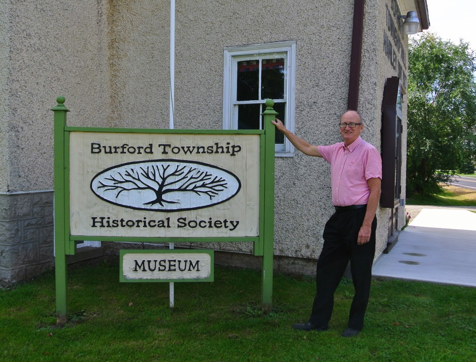 Burford Township Historical Society - Robert supports the dedicated volunteers who keep our history and heritage alive. Visit our Museum, make a donation and take a tour of our past.