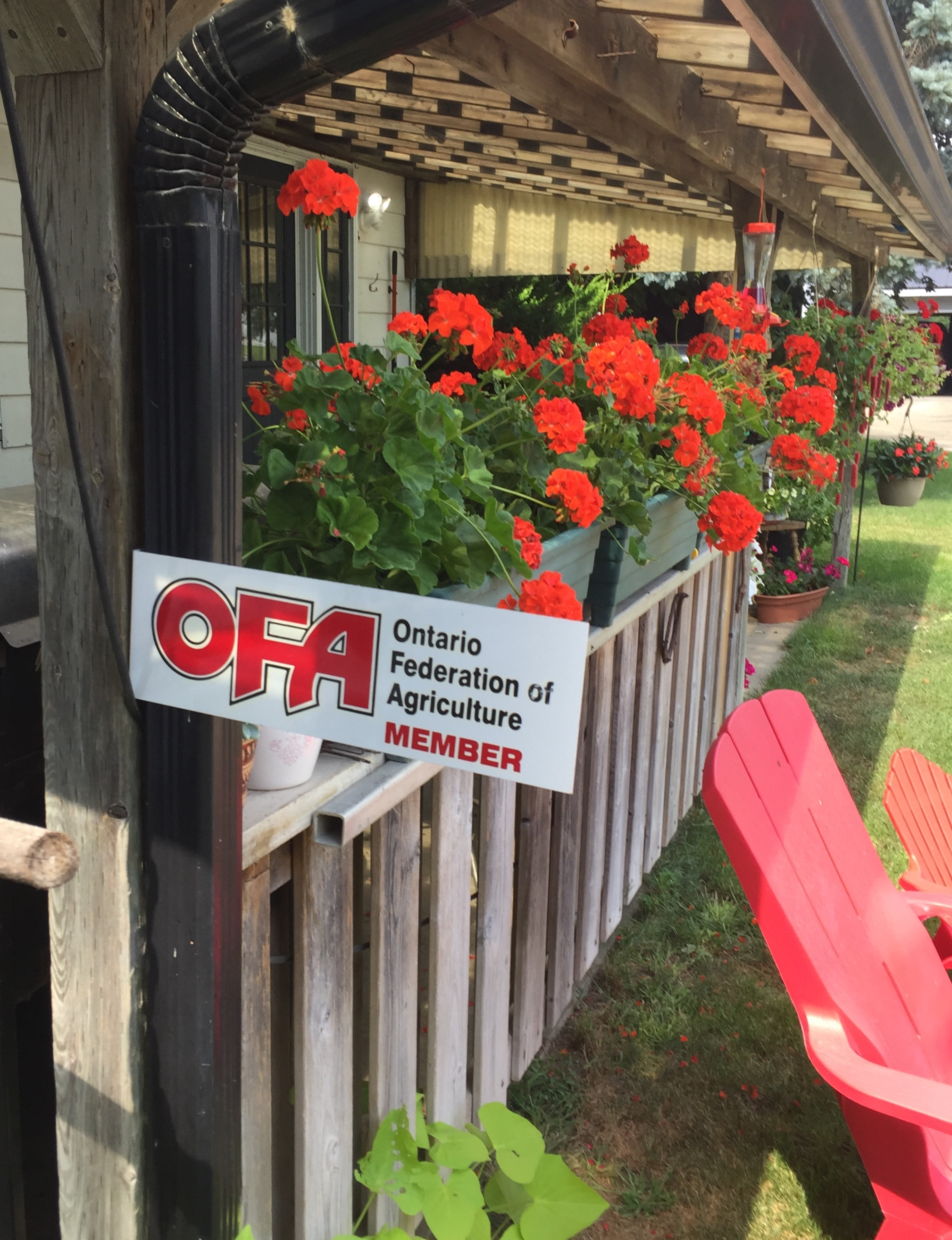 Ontario Federation of Agriculture - Robert is a past Brant County Director of the OFA. Support farm families and businesses.