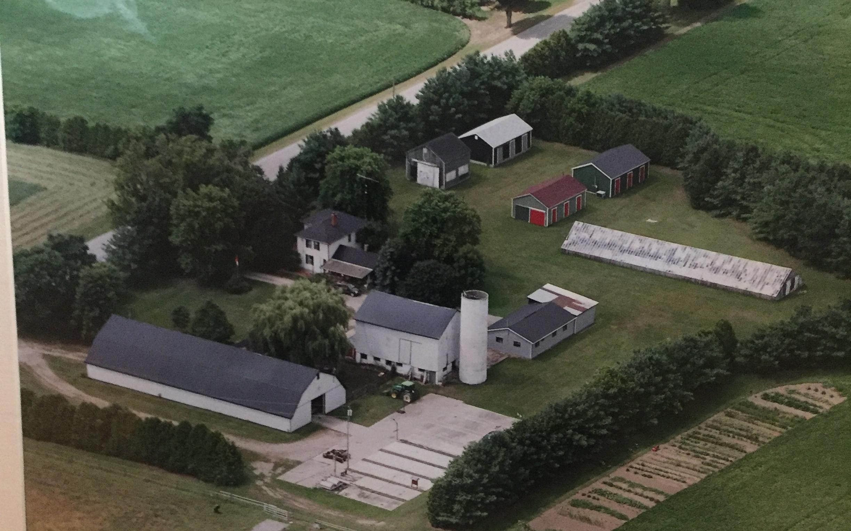 The farm in 2017 -