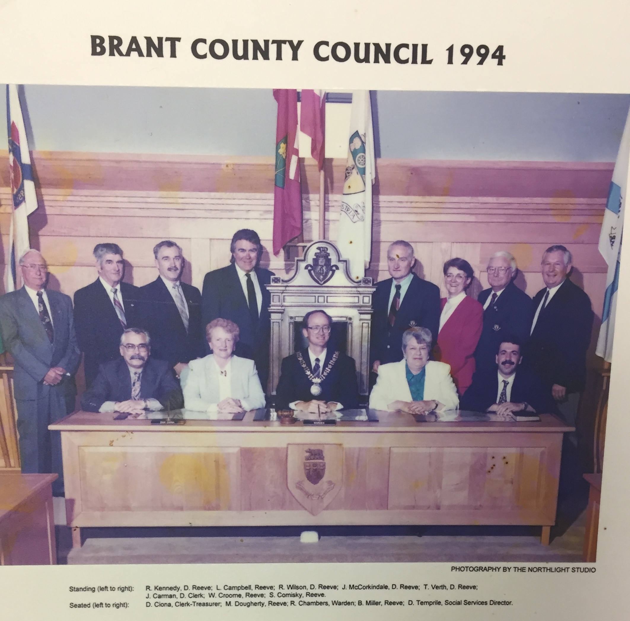 Brant County Council, 1994 -
