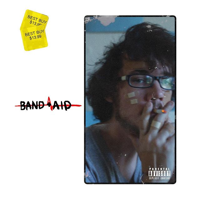 Bandaid out now in a Best Buy near you, jk (@artcultureking on the typeface)