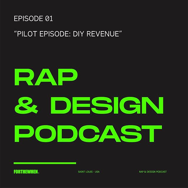 Yooooo finally (apologies for the delayed release) the Rap & Design Podcast is out now!!! Somehow I merged my two favorite worlds into a podcast and it works. ⠀ ⠀ On the first episode @phonzz and @alcheekz_ftw shoot the shit and talk about making revenue on the backend and how our brands maneuver the times.⠀ ⠀ Subscribe to it on Apple Podcasts, Spotify and Google.⠀ ⠀ Video for YouTube within the next day.