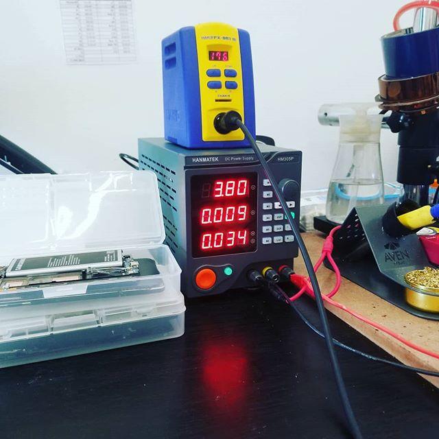 Got some new equipment today! #phonerepair #brokenphone #jenks #owasso #bixby #brokenarrow #tulsa #gadgetpro