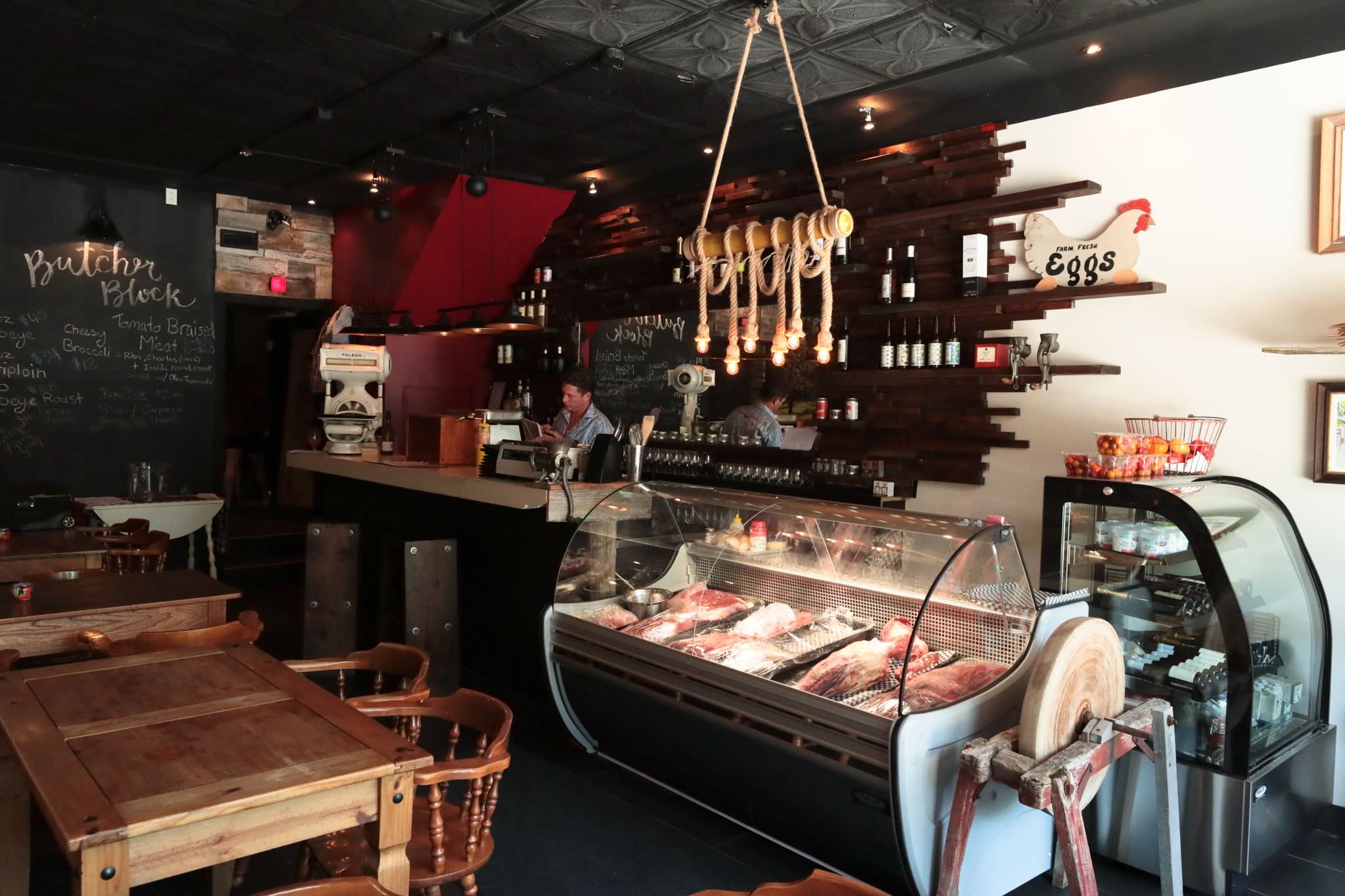 Interior with Butcher
