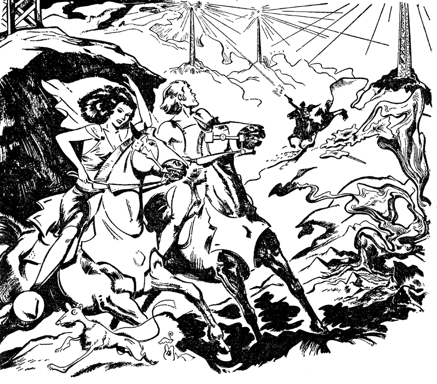 When Kohonnes Screamed illustration