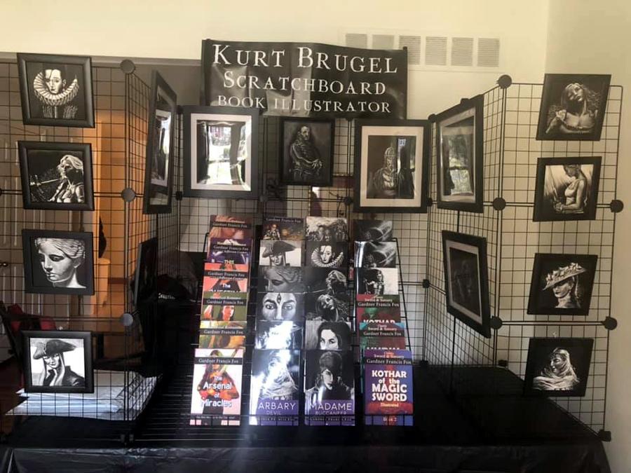 New Art and Book Display Gardner francis Fox Kurt Brugel.jpg
