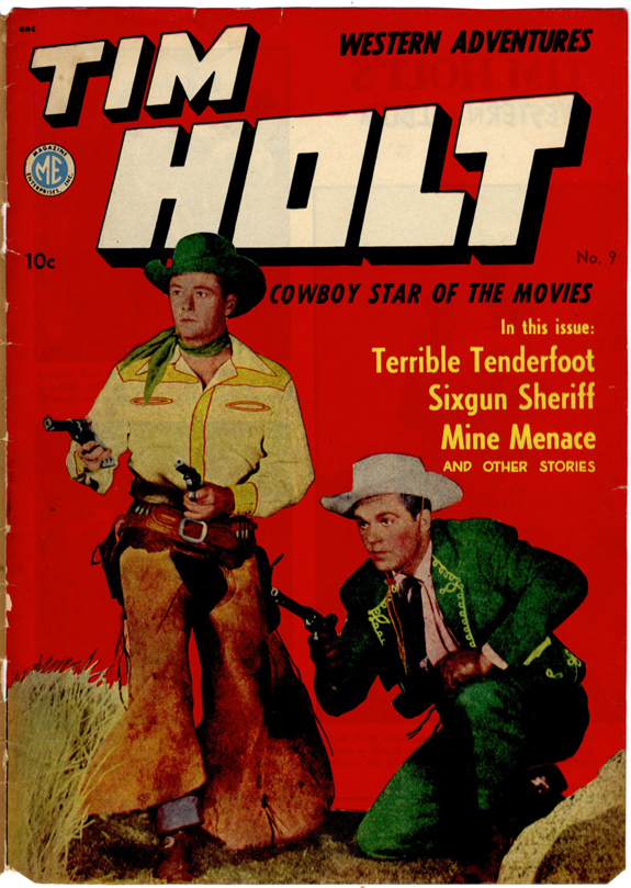 tim holt gardner f fox short comic book western story