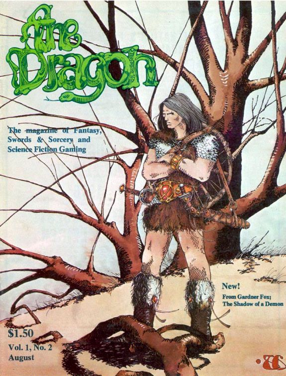 Dragon magazine Niall of the Far Travels 1 Gardner F Fox 1 cover.jpg