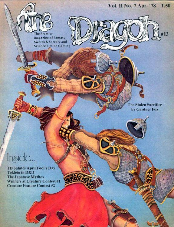 Dragon magazine Niall of the Far Travels 3 Gardner F Fox 1 cover.jpg