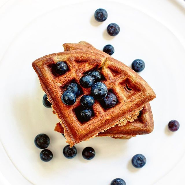 "Paleo waffles made from plantains are one of my favorite breakfasts that keep me satisfied for hours! This is a take on @purelytwins waffles with just a couple tweaks and I'll be sharing it soon on the blog soon. Meanwhile, you can check out Purely Twins' recipes 🤗 • There was a time I didn't think I could enjoy all of the brunch goodies I would see all over Instagram because I am grain-free, gluten and dairy free. But Purely Twins seriously brought ""brunch joy"" back into my life! They have so many Paleo recipes from waffles and pancakes to donuts and sandwich bread. All made from plantains ❤️ • Do you have a favorite instagramer, blogger, or foodie that has bought a special recipe into your routine? Sending a special thanks to them all for the goodies they share 💗#offthebeetenplate"