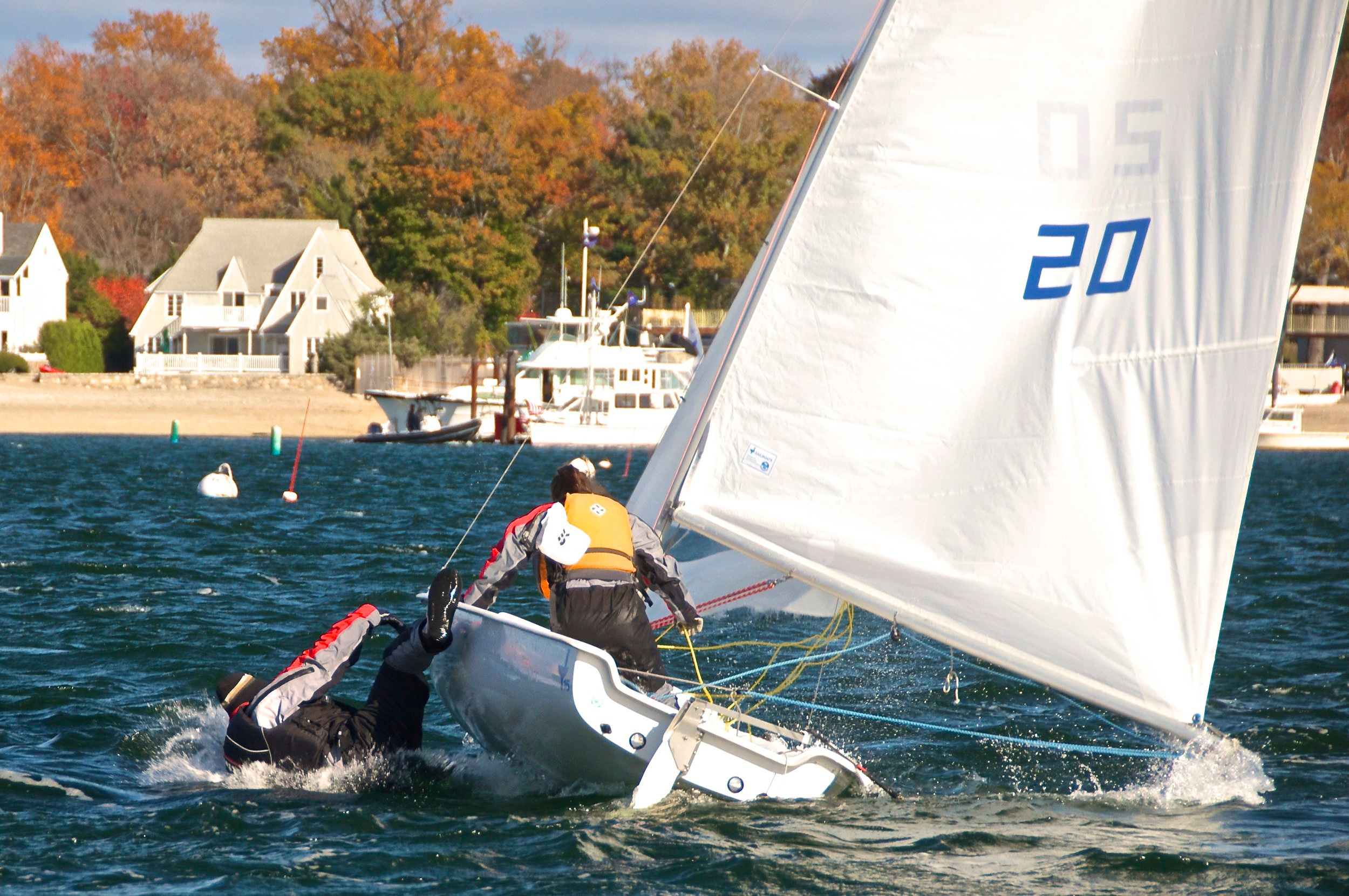 Ooops! Frostbite Sailing, Stamford, CT