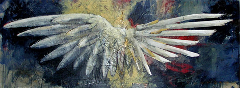 """Angel Face"" 60x24"" oil on panel"