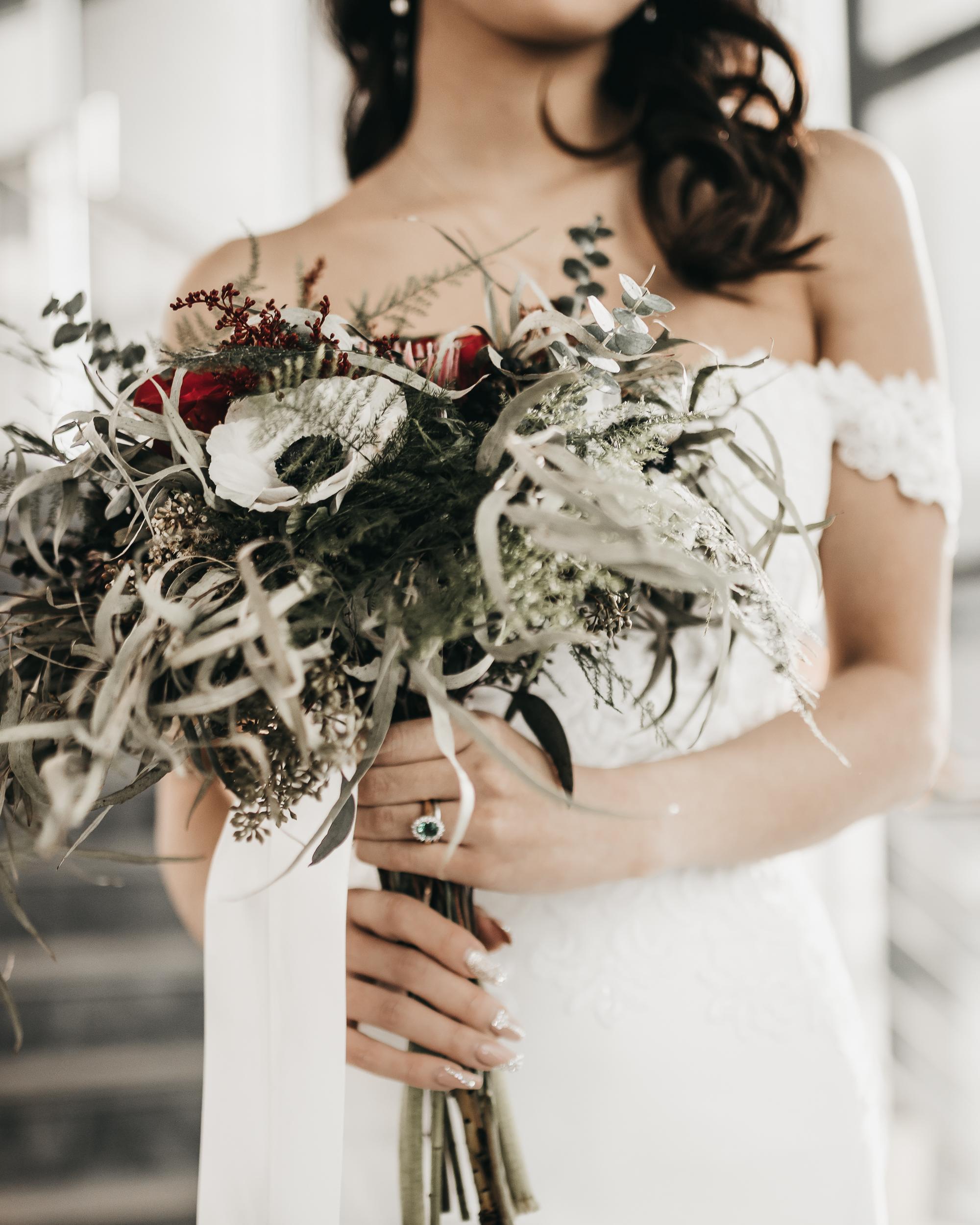 Stylized Elopement | TIMMS centre for the Arts | Edmonton Wedding Photgorapher