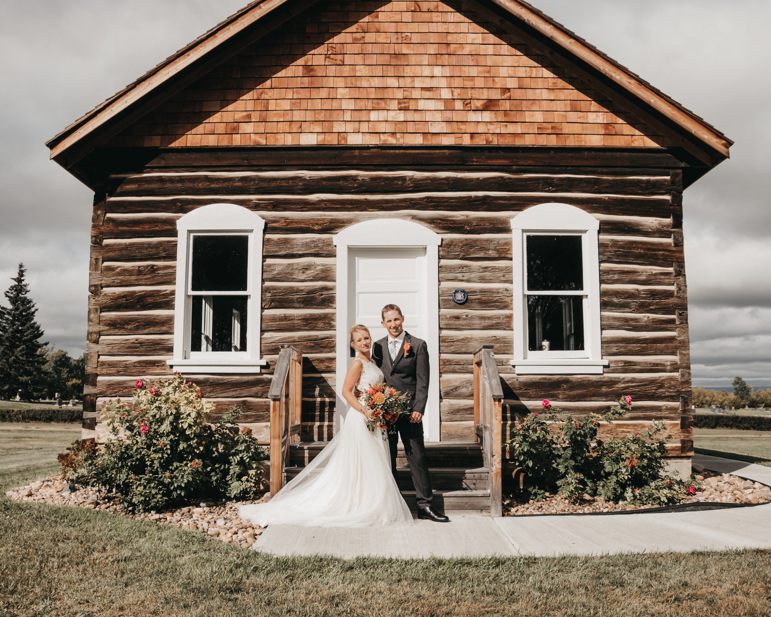 Andrew & Victoria | Grande Prairie, Alberta Wedding | Edmonton Wedding Photographer