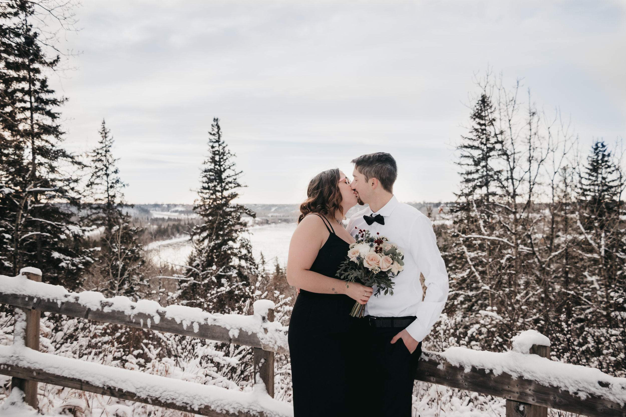 Chris & Emma | Edmonton Elopement | Edmonton Wedding Photographer