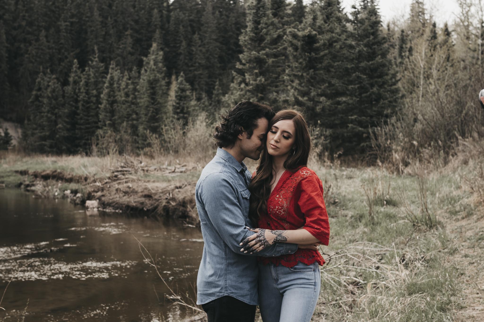 Angela & Robby | Life Unposed Workshop | Edmonton Photographer