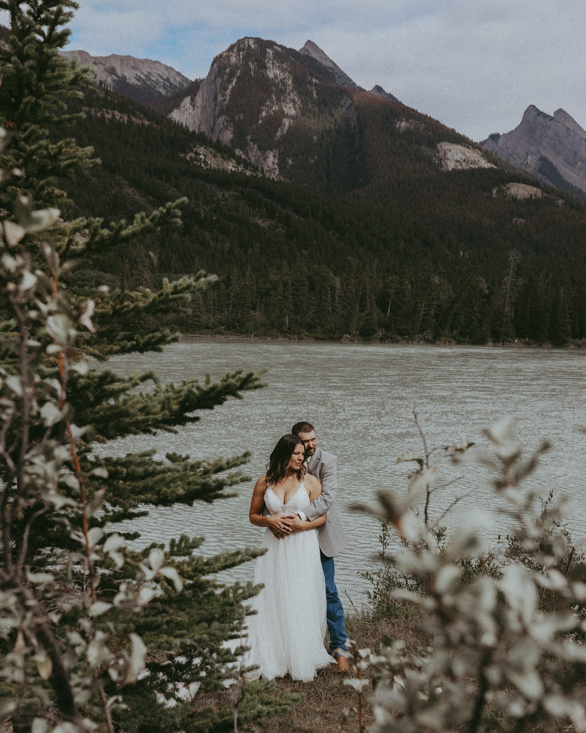Jasper Day Use Area Wedding