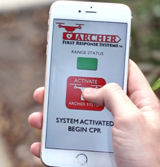 Archer First Response System Mobile app