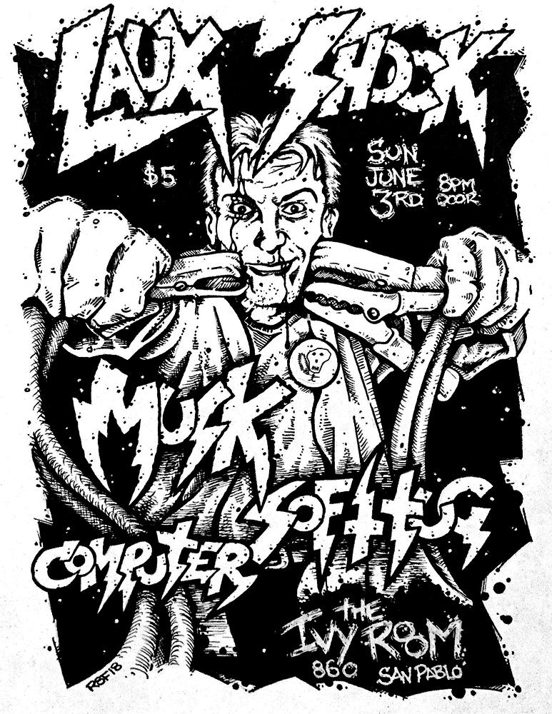 lauxshock-musk-softtug-computer-poster-flyer-artwork-robfletcher-ivyroom-2018