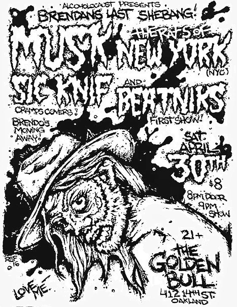 musk-ratsofnewyork-sicknif-beatniks-poster-flyer-artwork-robfletcher-thegoldenbull-2016