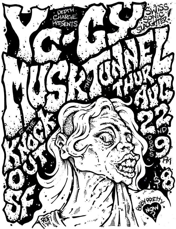 YCCY-MUSK-TUNNEL-Knockout-poster-flyer-artwork-robfletcher-2019
