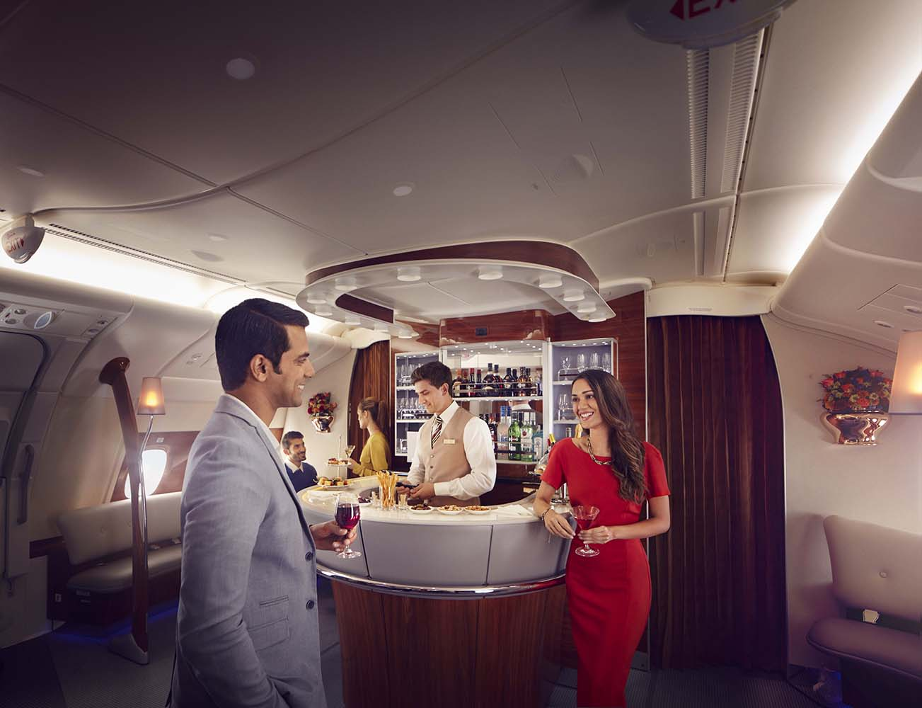 Business and First Class Onboard Lounge