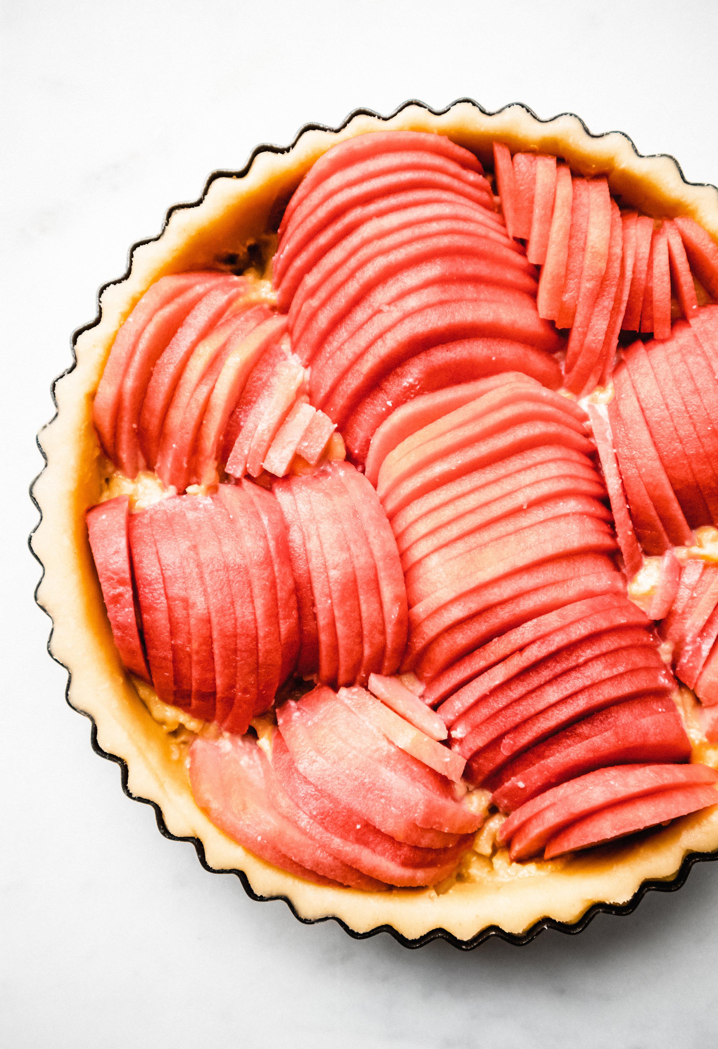 french apple tart - Delicious Monster