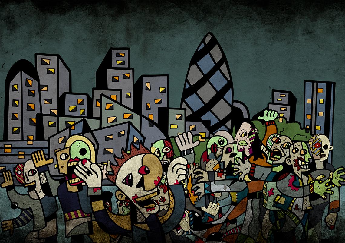 Zombie in London