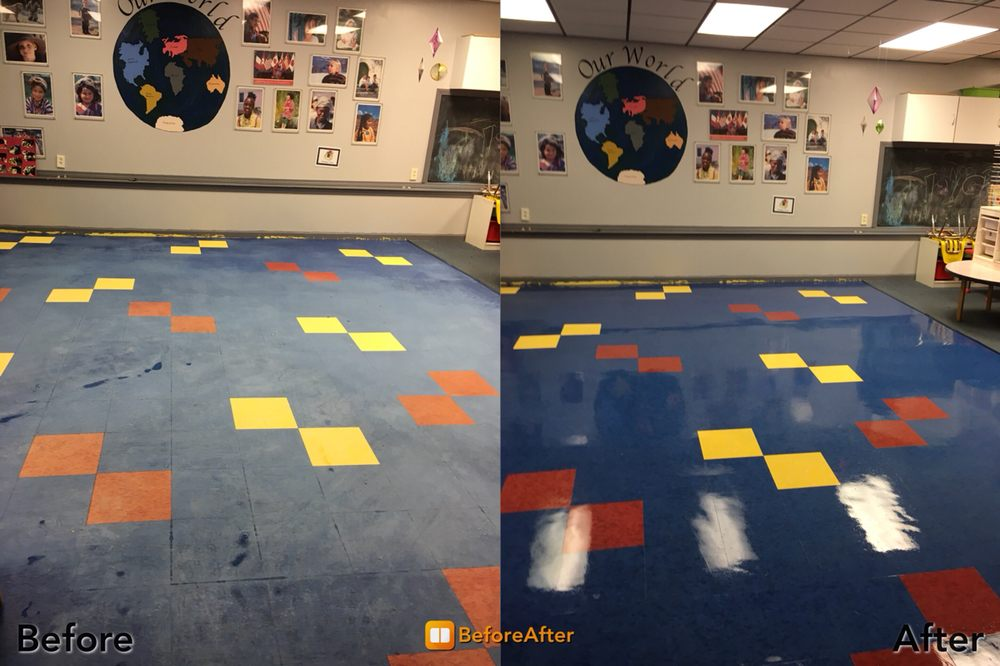 Daycare - School - Cleaning Company - Strip and Wax - Lowell Ma