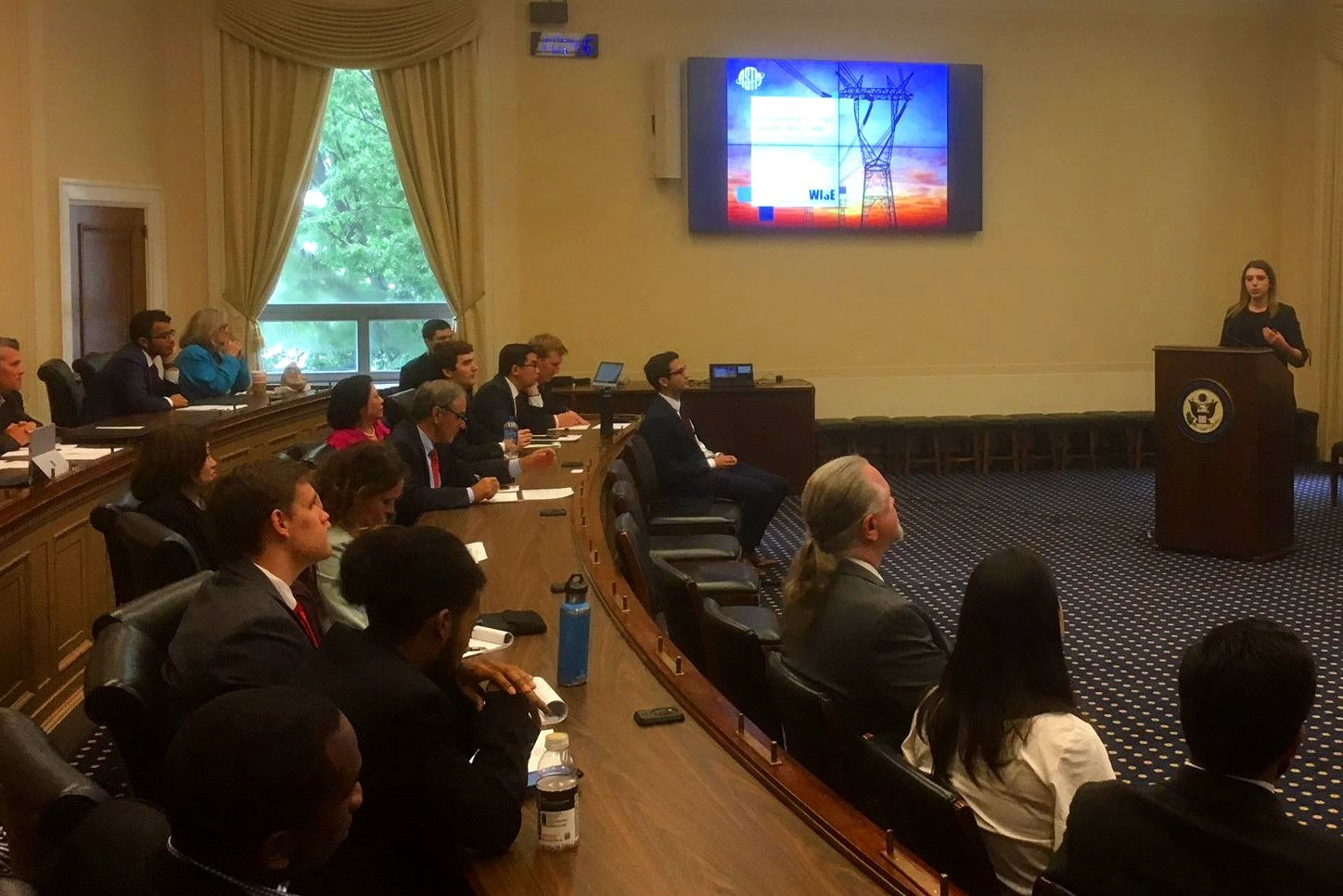 "Presenting "" Strengthening U.S.-Sub-Saharan Africa Trade: AGOA, Technical Standards, and Energy Initiatives "" at Rayburn House, in Washington, D.C."