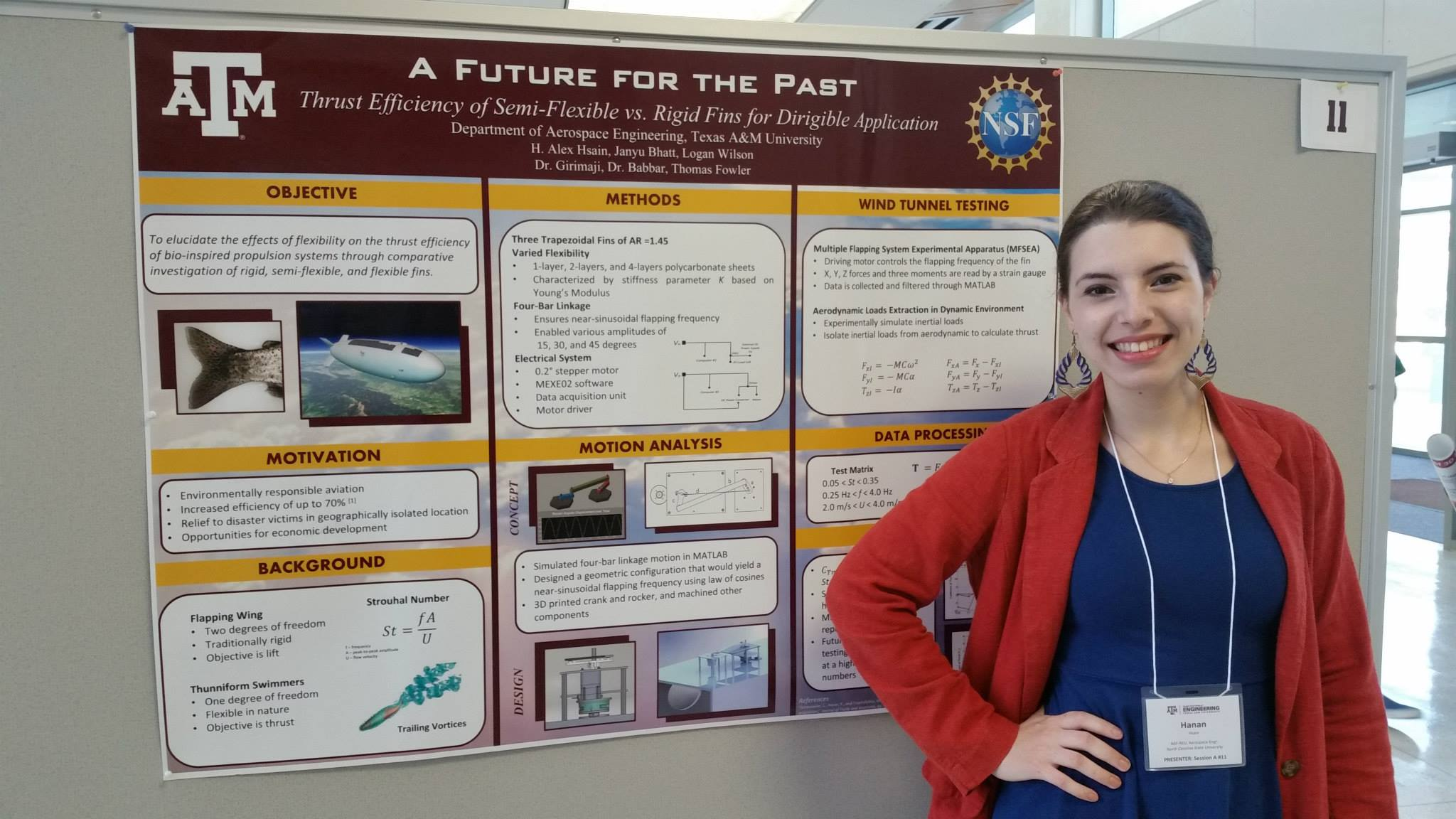 Presenting my first (ever) research poster at the summer symposium in August 2015.