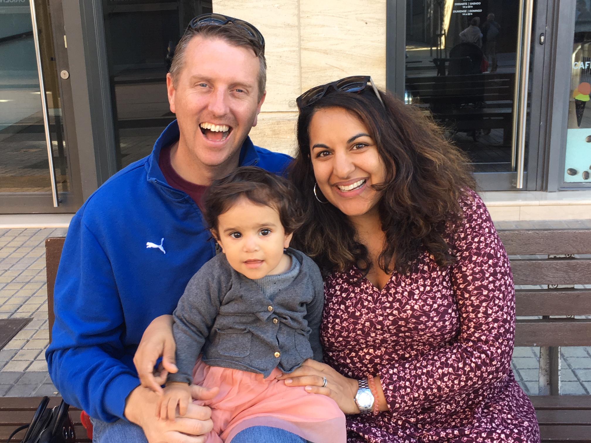 John, Zara & Alia