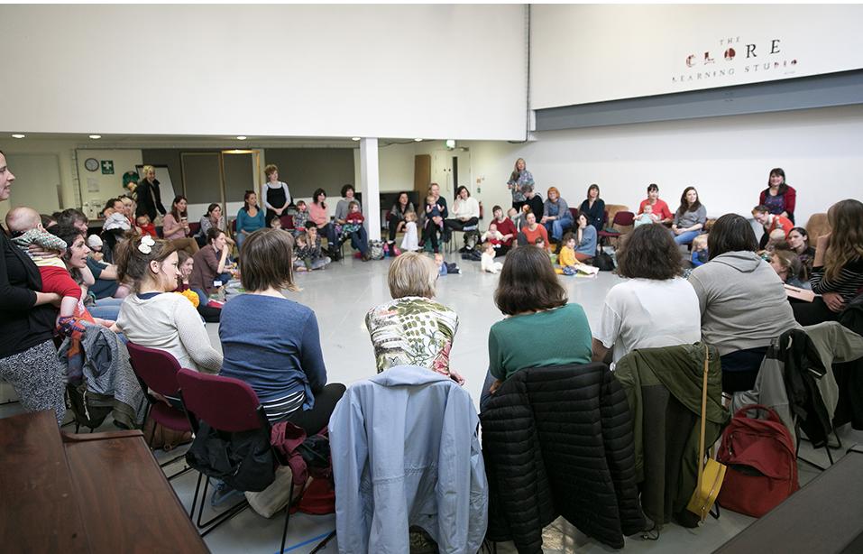 Mothers Who Make, Hub Meeting