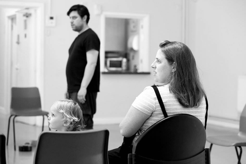 Nicky Diss, Director and Producer - Much Ado About Nothing for Open Bar Theatre with Luke (22 months) and Robyn (2 weeks!)