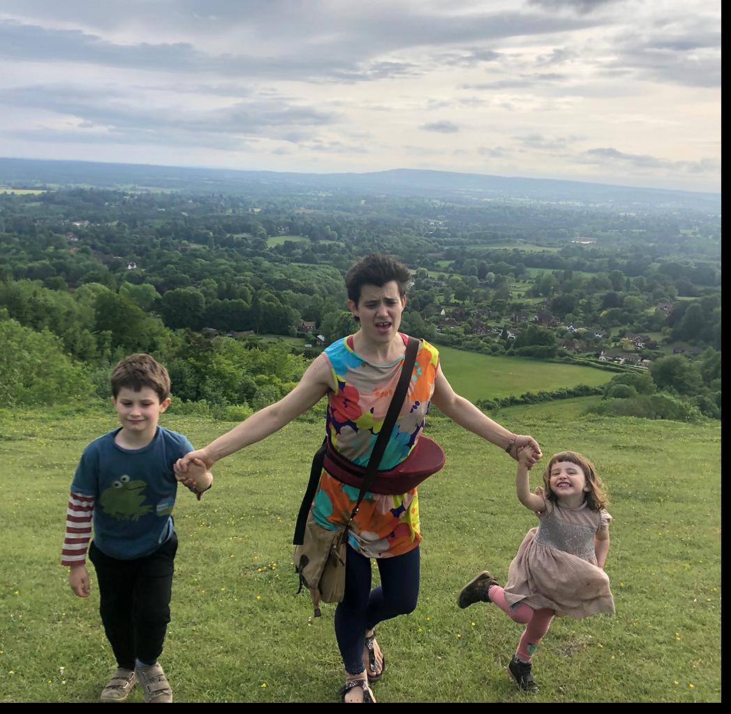 Phelim, Matilda and their children