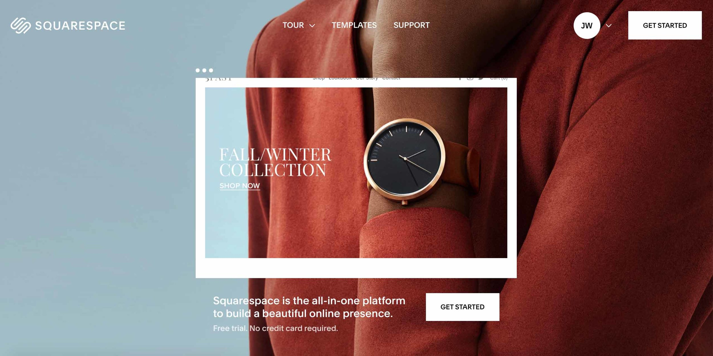 squarespace - We create all of our website on Squarespace. This robust and dynamic platform allows us to create a modern design, with custom CSS, and powerful SEO.