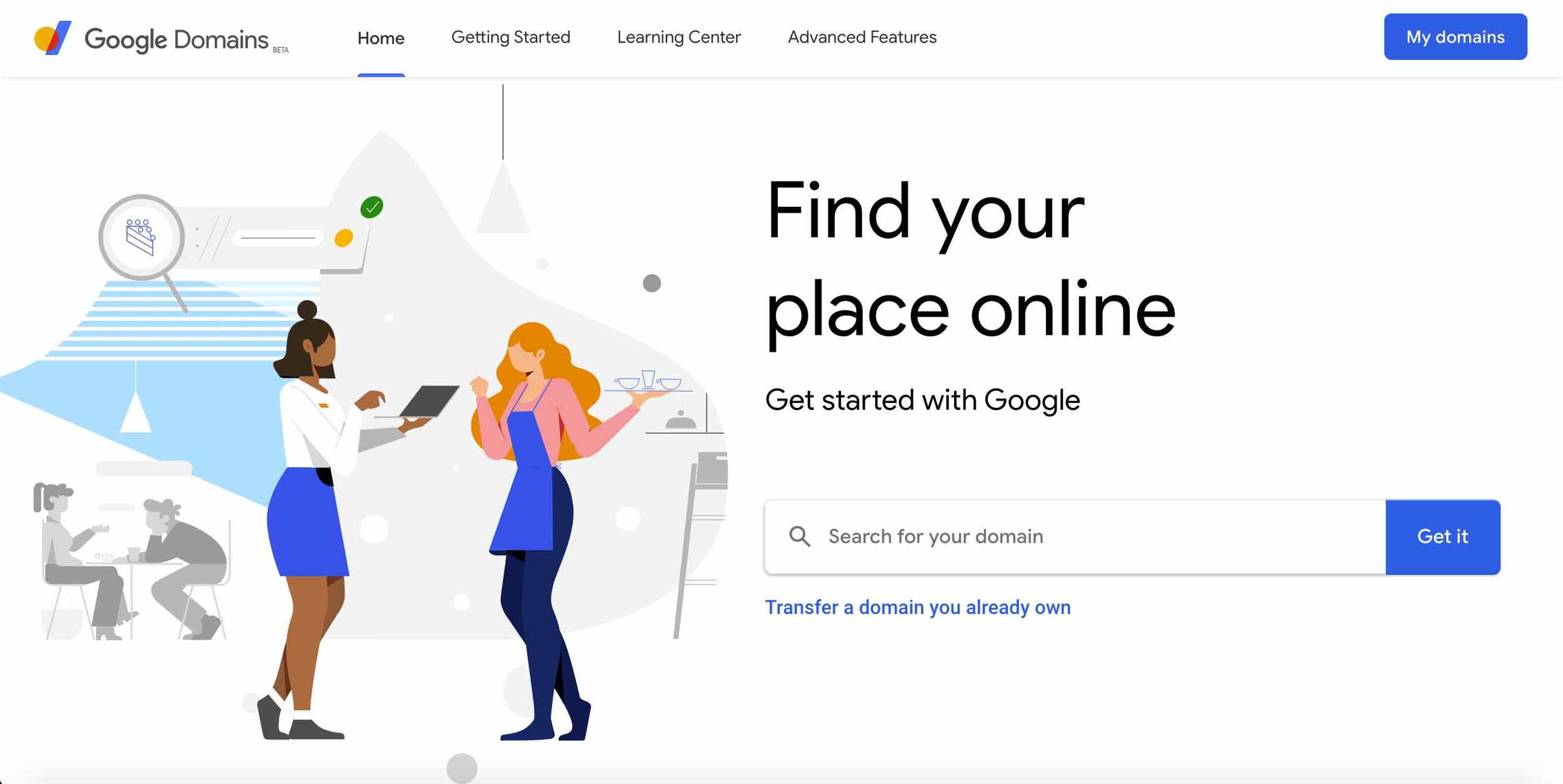 """google suite, ads & domains - We set-up Google Suite accounts as well as create and manage Google Ad campaign with our Marketing partners """"The Marketing Initiative."""""""