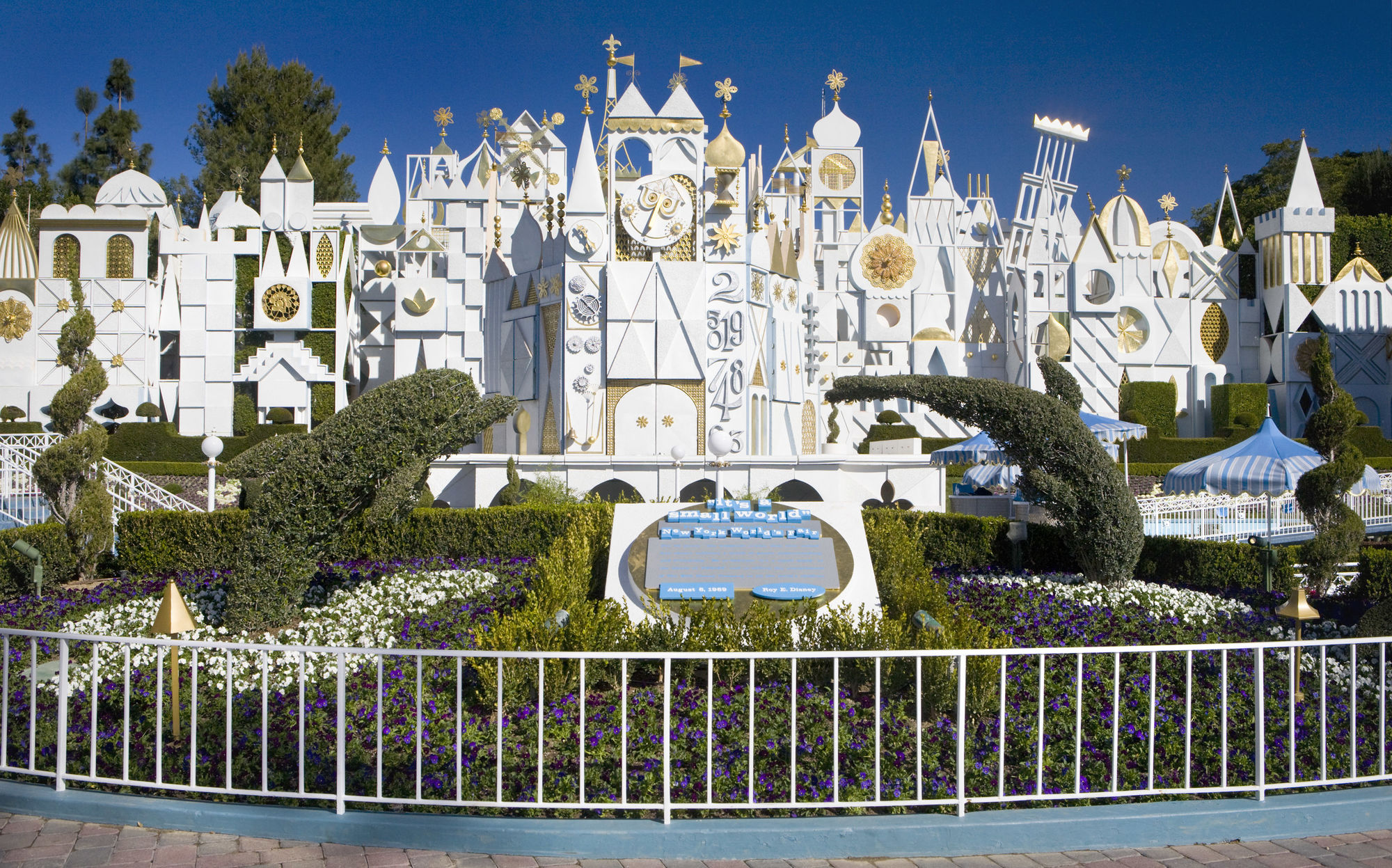Coburn's masterpieces bring life and are an integral aspect of the ride It's A Small World at Disneyland Resort California.