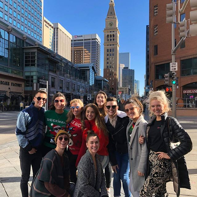 Our cast are enjoying a well earned day off today! Resting the legs to wow the crowds tomorrow night in Boulder! #thecelticgift #bouldertheatre