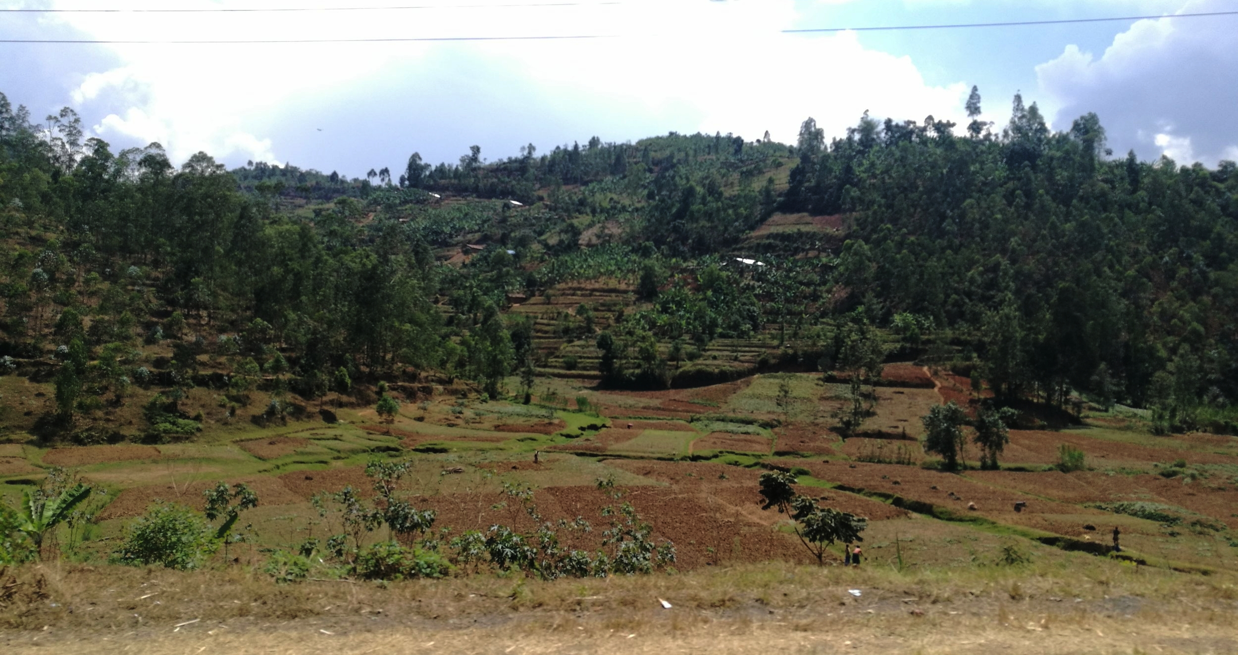 Somewhere between Kigali & Gisenyi