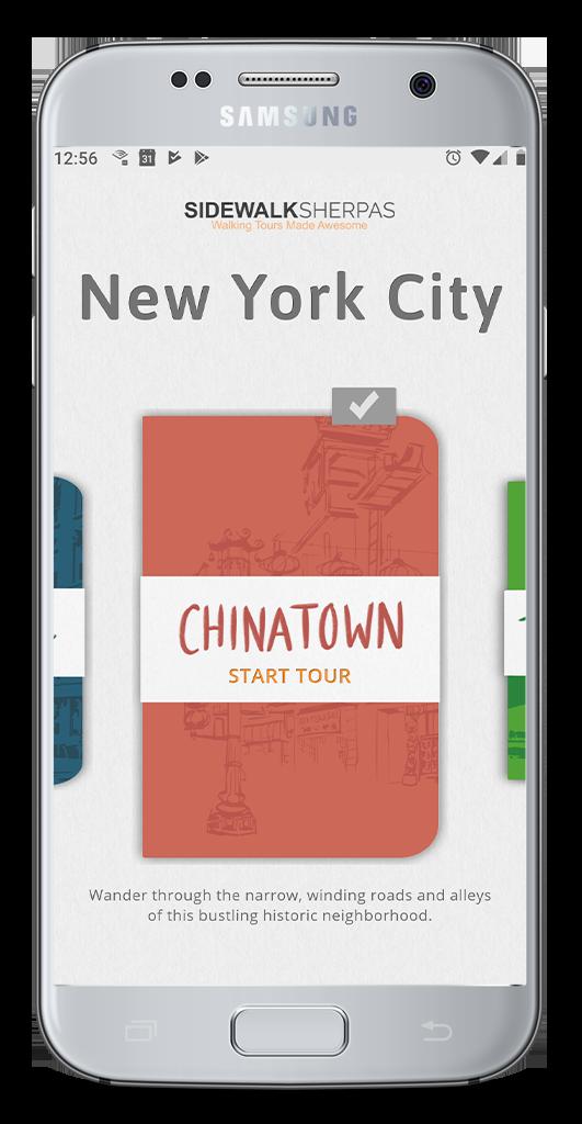 Sidewalk Sherpas NYC Walking Tour App